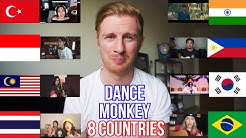 TONES AND I - DANCE MONKEY (8 COUNTRIES) // WHO SANG IT BETTER??