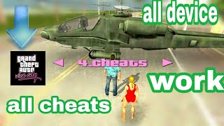 [2019] Cleo mod in gta vice city for all device for Android in hindi|| how to use cheats gta vc