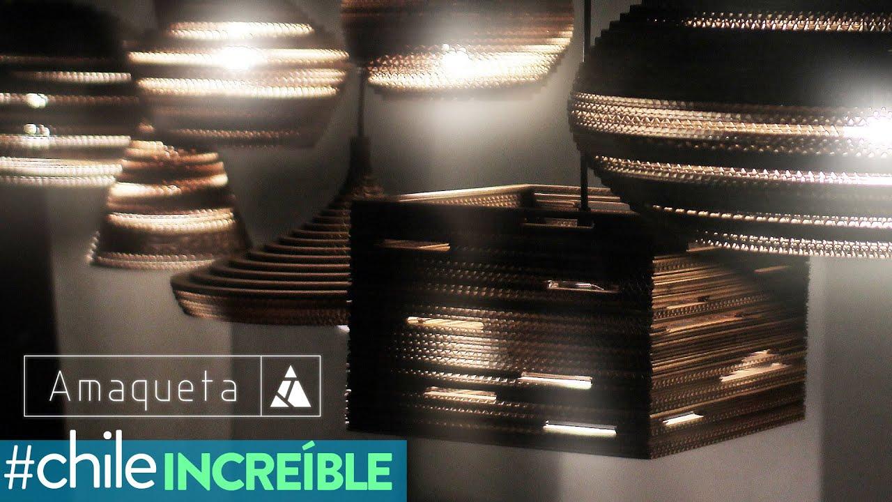 Estudio Amaqueta Lámparas De Cartón Corrugado Chile Increible