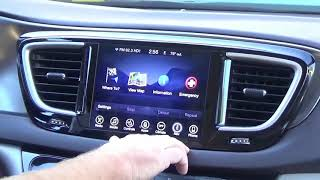 Chrysler Pacifica Factory Uconnect GPS Navigation Radio Upgrade - Easy Plug & Play Install!