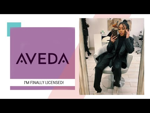 VLOG: I GRADUATED FROM AVEDA INSTITUTE OF NYC | WORKING IN SOHO