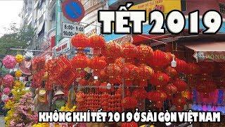 Sài Gòn Chợ lớn rực lửa ngày cận Tết Cầu Chà và đường Khổng Tử
