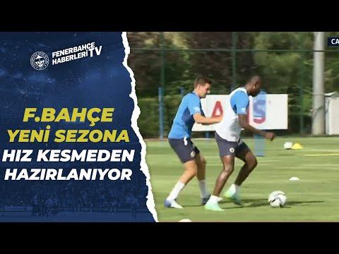 Fenerbahçe Antrenmanında Futbolcuların Hırsı Dikkat Çekiyor