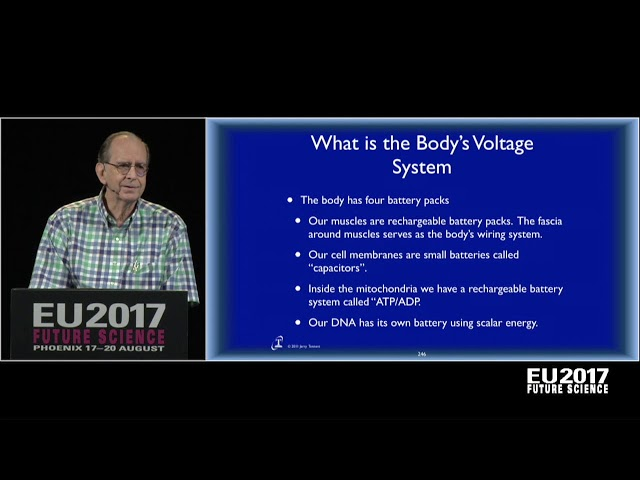 Dr. Jerry Tennant: Healing is Voltage -- The Physics of Emotions | EU2017