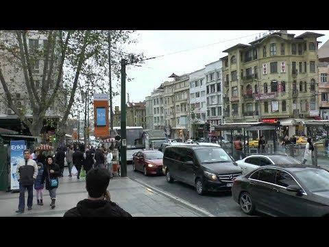 Walk around Istanbul (Sirkeci-Sultanahmet-Laleli-Aksaray-Valens Aqueduct)