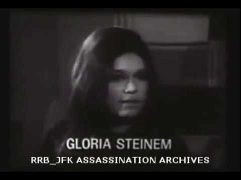 Gloria Steinem Interview as a feminist CIA agent. ca. 1963