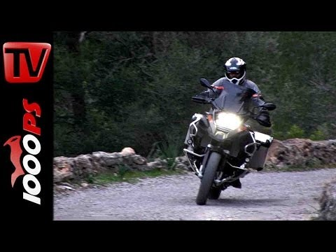 BMW R 1200 GS Adventure 2014 Test mit K.OT