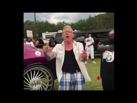 Talented & Swagged Out Old Man Performs Plies New Hit