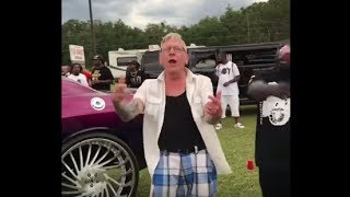 "Talented & Swagged Out Old Man Performs Plies New Hit ""Real Hitta"" ft. Kodak Black"