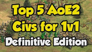 Best 1v1 Civilizations (AoE2 Definitive Edition stats)