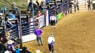 Bull riding 2019 All-star Rodeo. Sat semi finals.