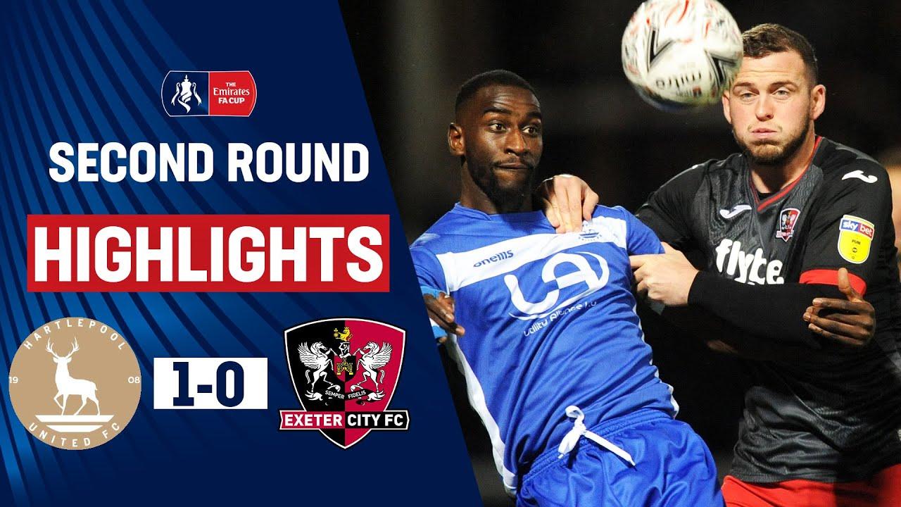 Хартлпул Юнайтед  1-0  Эксетер Сити видео