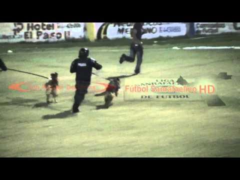 El gol más rápido Huracán S. R. y un hincha agrede al árbitro