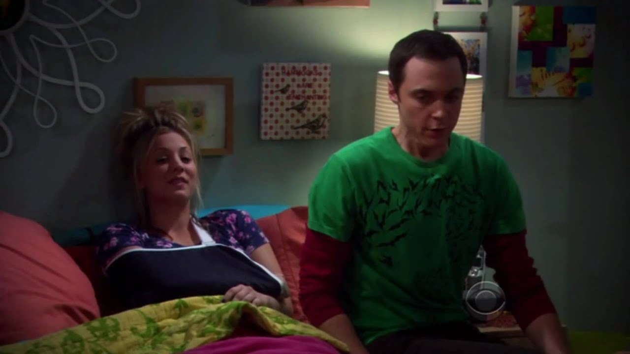 penny and sheldon love test