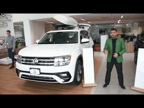 2019 Volkswagen Atlas and Tiguan