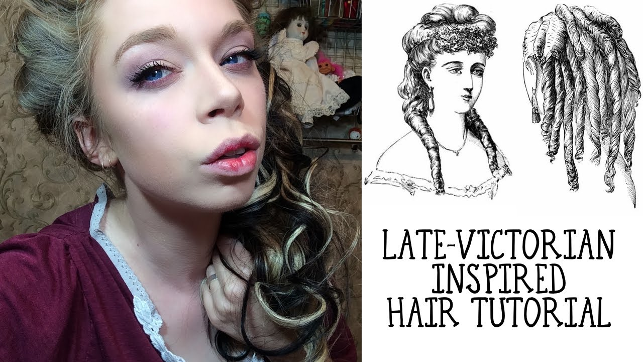 late victorian inspired hair tutorial