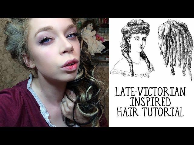 1. fin victorien coiffure
