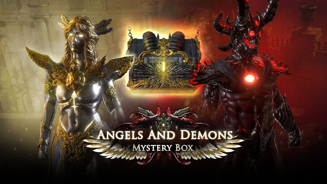 What's in the Angels and Demons Mystery Box?