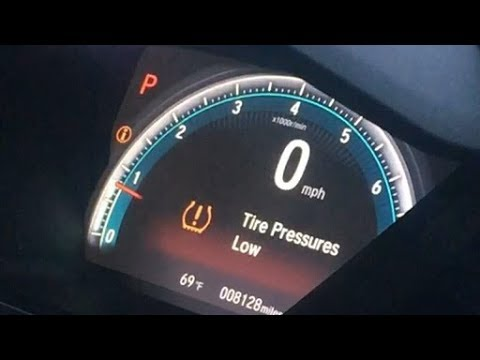How to Reset the Tire Pressure Low Light on 2015 Honda Civic