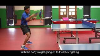 Forehand Topspin Technique - Table Tennis