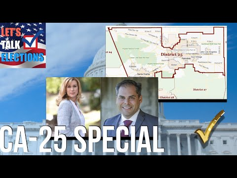 The California 25th District Special Election