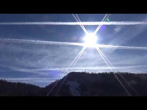 Geoengineering In SW Colorado - Silver Iodide Criss-Cross