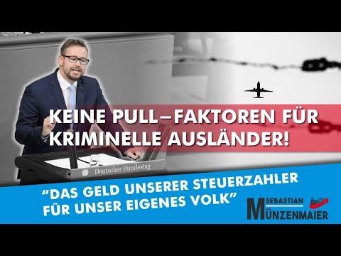 Sebastian Münzenmaier im Bundestag: Keine Pull-Faktoren für kriminelle Ausländer