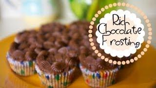 Experiment 3 - Rich Chocolate Frosting - Trisha's Kitchen
