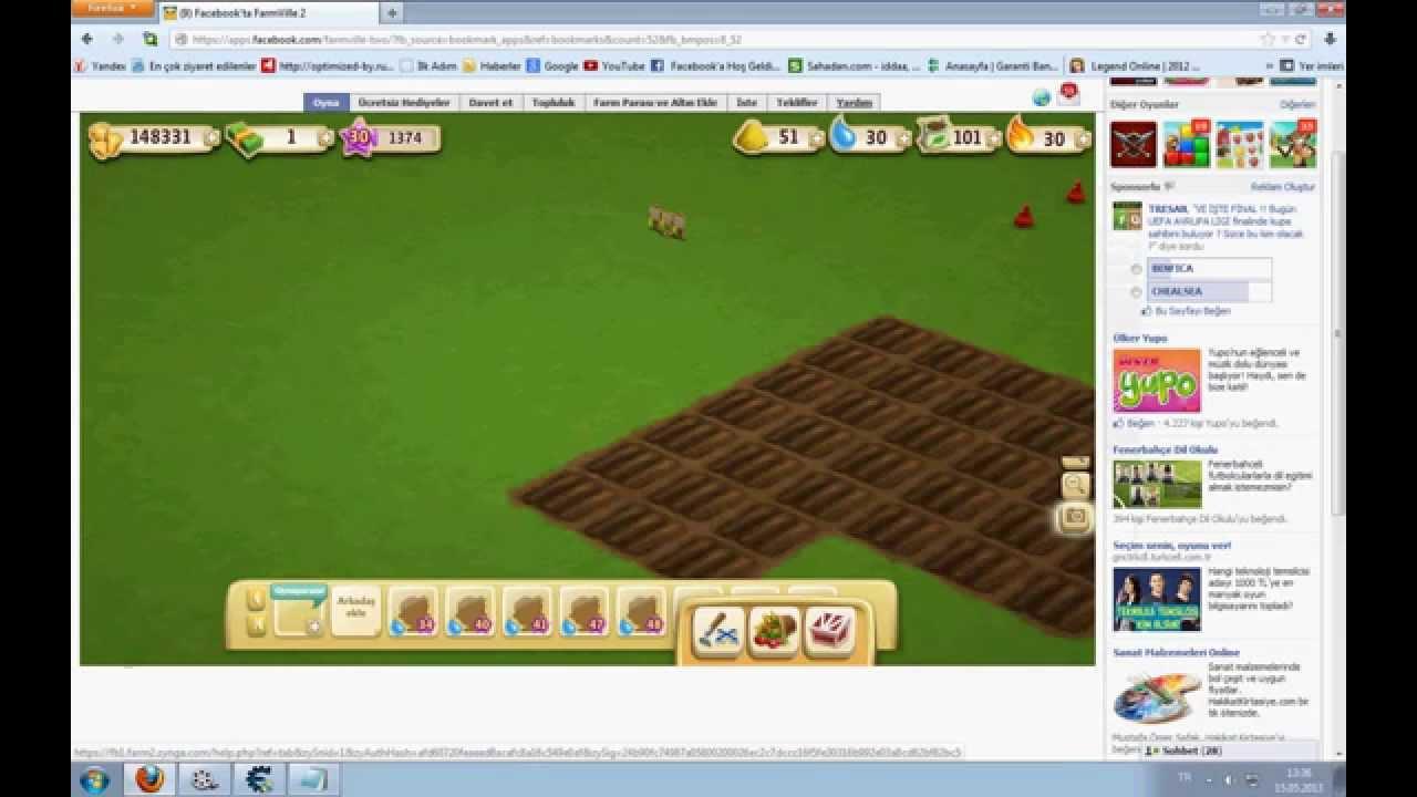 Faruk'dan ) Farmville 2 Yeşil para ( dolar hilesi ) - YouTube