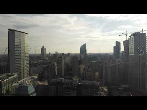 Milano City Skyline by Drone
