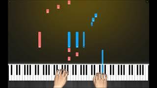 电子琴钢琴演奏经典钢琴曲《蓝色生死恋插曲》