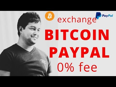How to Exchage Bitcoin to Paypal With 0% Fee | Skill Boost