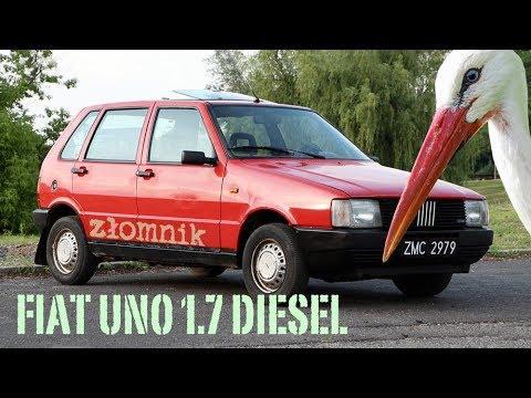 Złomnik: Fiat Uno Diesel Czyli 19 Minut Klekotania
