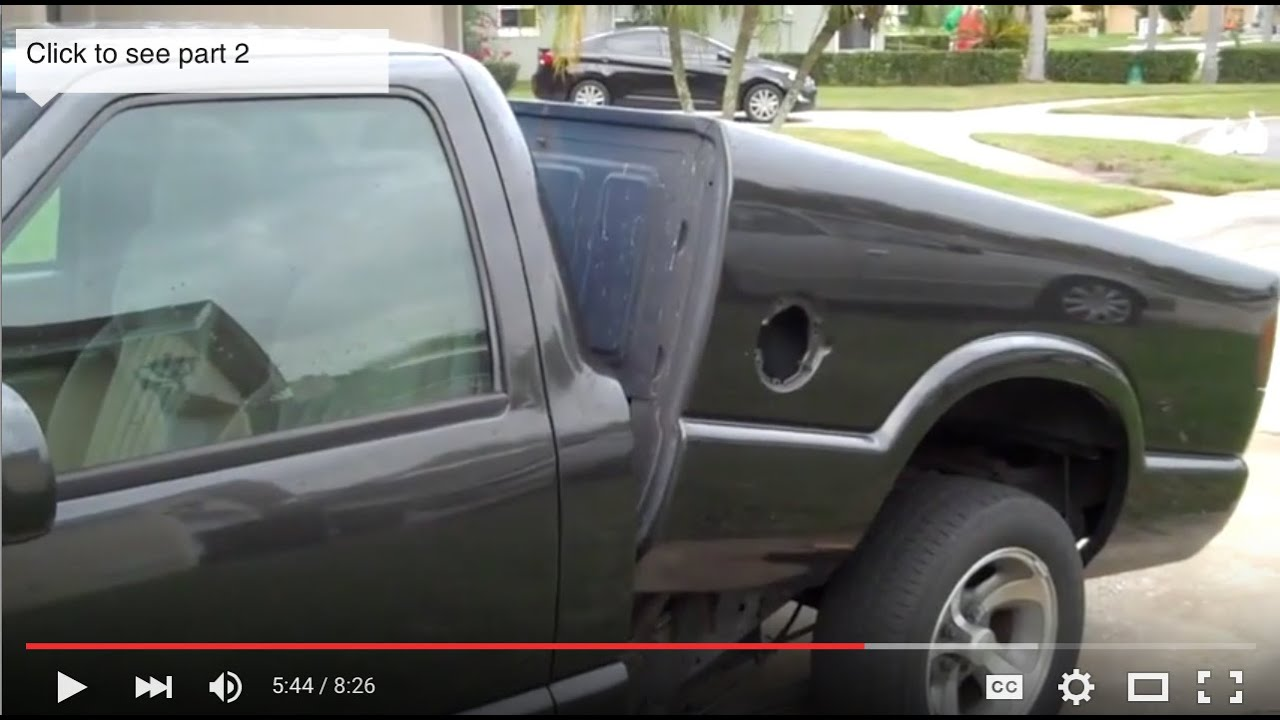S10 Fuel Pump Replacement Part 2 Youtube Chevy 2l Engine Diagram