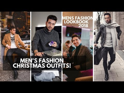 Men's Christmas Outfits | How to Dress for a Christmas | Christmas Outfits for Men | Lookbook 2018