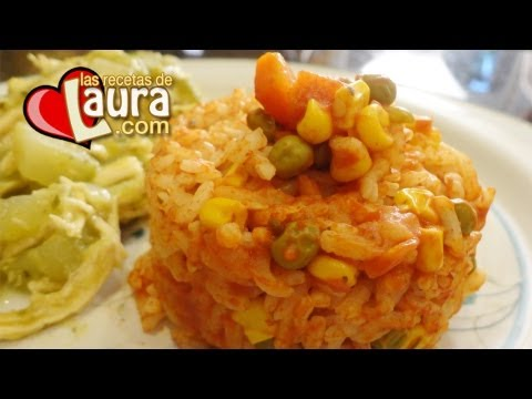 Arroz rojo con verduras recetas light las recetas de laura - Arroz con verduras light ...