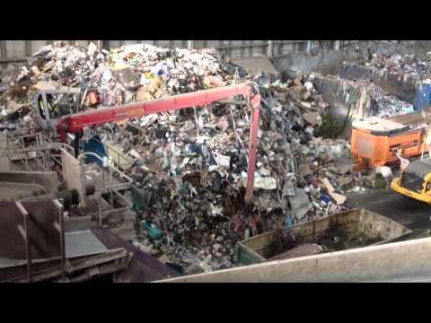 electric crane Dublin recycling plant