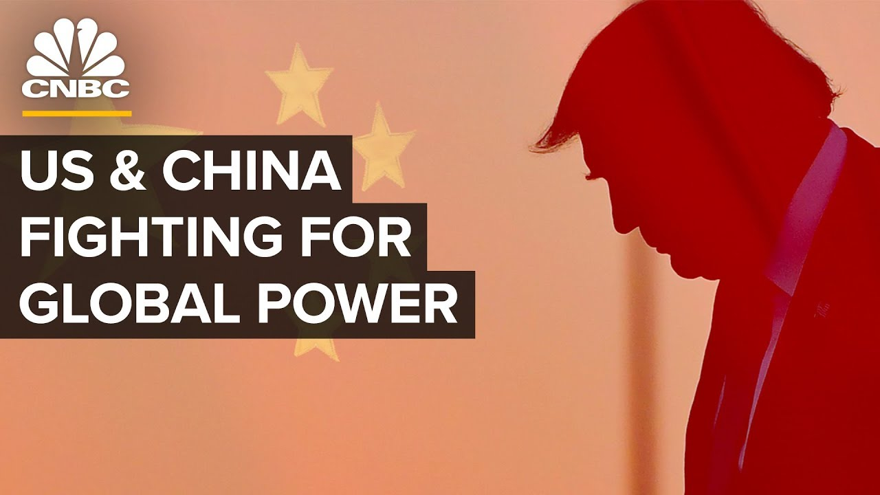 How The U.S. And China Are Fighting For Global Power