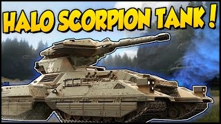 Crossout ➤ Halo Scorpion Tank Build & New Game Mode! - Most Requested Build Yet! [Crossout Gameplay]