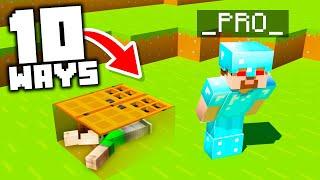 10 Ways to Hide from _MinecraftPr0_ in Minecraft!
