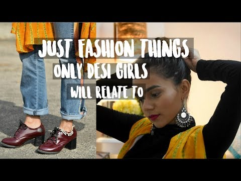 Just Indian Fashion Things Only Desi Girls Will Relate To! | Komal Pandey