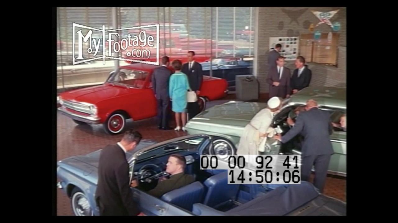 CAR SALES 1960S - YouTube