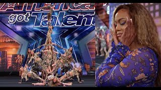 Breathtaking America's Got Talent performance by an acrobatic dance troupe from Austria