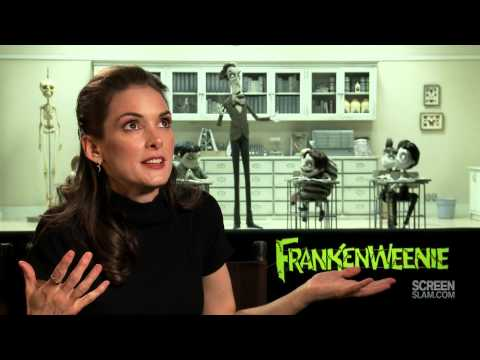 FRANKENWEENIE: Winona Ryder Interview