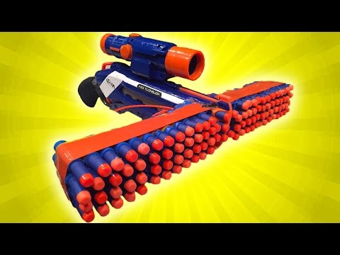TOP 10 NERF GUN MODS!