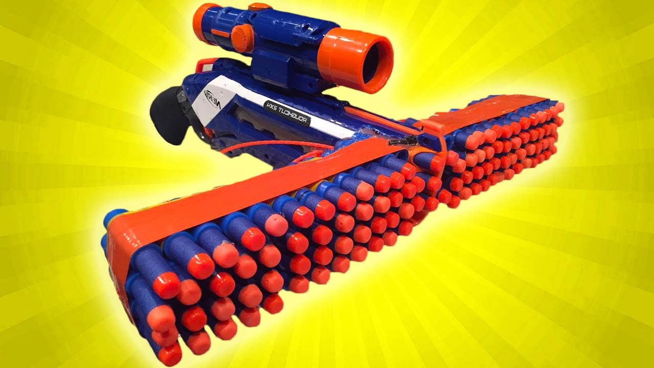 make your own NERF gun that performs better | SHOUTS  |Nerf Guns Awesome Looking