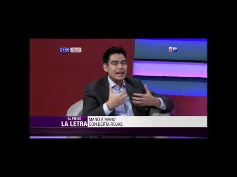 Berta Rojas entrevistada por Santiago González en 'Al Pie de la Letra'