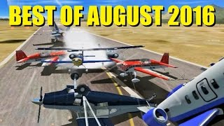Best FSX Multiplayer Moments of August 2016!