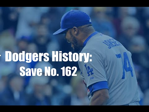 Dodgers History: Closer Kenley Jansen Save No. 162