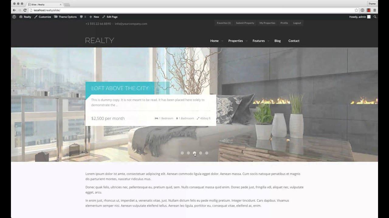 Realty – ThemeTrail